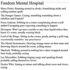I'm in over half of these fandoms.... what does that mean!!