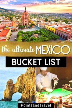 The Ultimate Mexico Bucket List. These are the 10 most popular Mexican destinations. With such diverse culture, food and activities, knowing where to go is half the battle. Mexico Travel | Mexico Bucket List | Oaxaca Mexico | Mexico Vacation | Los Cabos Mexico | Mexico Travel Guide | Mexico Vacation Spots | Top Mexico Destinations