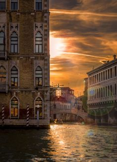 Sunset in Venice by Nima Shayesteh  https://www.facebook.com/jennyappuntidiviaggio/