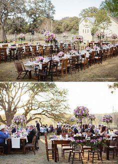 Vintage Texas Country Wedding