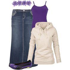"""Purple"" by dixiegirl-778 on Polyvore"