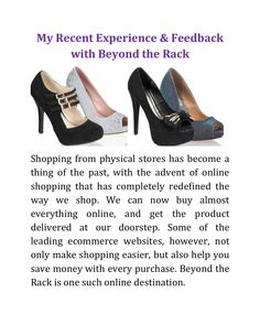 is a leading known for providing a wide variety of products at up to discount. Branded and designer are usually priced handsomely, and hence, it gets difficulty to buy them too. For further information about big discount and collection read post…. Shopping Stores, Online Shopping, Beyond The Rack, Peep Toe, Platform, Unique, Stuff To Buy, Collection, Products