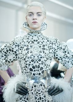 """it was a tossup between this board and """"Things That Are Wrong""""  Alexander McQueen Womenswear A/W12"""