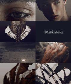 ❥ vogel im käfig | snk aesthetic Bertholdt