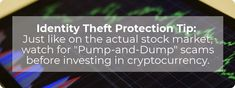 Identity Theft Protection, Stock Market, Cryptocurrency, Marketing
