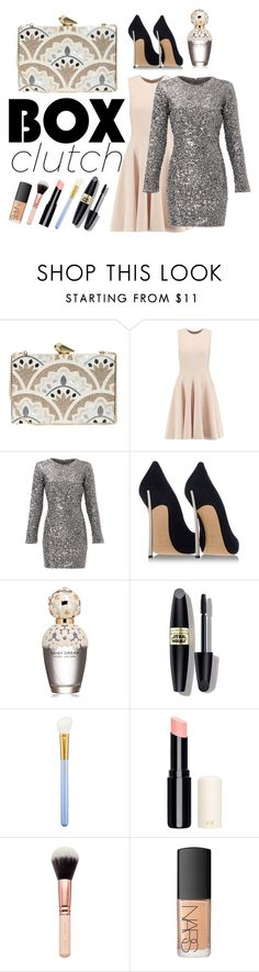"""""""what's in your magic box? it's chic"""" by zenaldanavas ❤ liked on Polyvore featuring KOTUR, Michael Kors, Slate & Willow, Casadei, Marc Jacobs, Max Factor, MAC Cosmetics, NARS Cosmetics, women's clothing and women's fashion"""