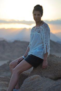 Desert fringe | Thankfifi - UK fashion blog by Wendy H Gilmour.