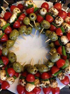 Snacks Für Party, Appetizers For Party, Appetizer Recipes, Fruit Appetizers, Appetizer Ideas, Make Ahead Appetizers, Vegetarian Appetizers, Bbq Party, Luau Party