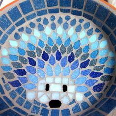 Moonlight Hedgehog Water Dish Saucer Wildlife 21cm by JoSaraUK