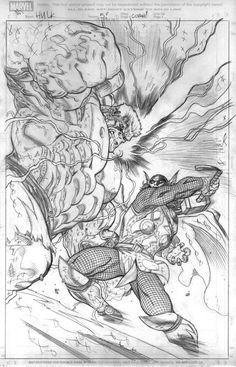 #Hulk #Fan #Art. (Hulk 5 cover pencils) By: EdMcGuinness. (THE * 5 * STÅR * ÅWARD * OF: * AW YEAH, IT'S MAJOR ÅWESOMENESS!!!™)[THANK Ü 4 PINNING!!!<·><]<©>ÅÅÅ+(OB4E)