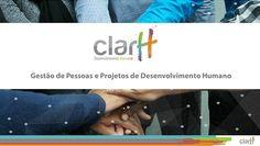 Apresentação desenvolvida em formato Power Point e PDF para a captação de clinetes e apresentação dos serviços oferecidos pela ClarH Desenvolvimento Humano.