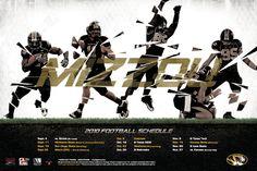 2010 Mizzou football poster
