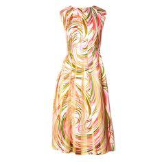 Pauline Trigere Silk Organza Dress