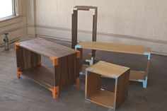 Modular furniture by Soapbox