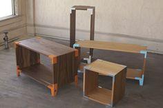 Modular furniture by Soapbox
