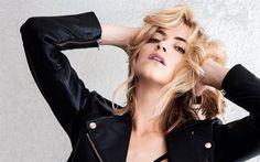 Emily Wickersham, American actress, blonde, beautiful girl, portrait, actress