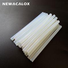 20Pcs/Lot 7mm x 130mm Hot Melt Glue Sticks For Electric Glue Gun Craft Album Repair Tools For Alloy Accessories