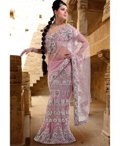Robe Indienne Sari Shamira - Rose