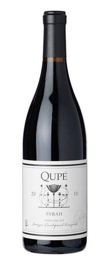 "2010 Qupé ""Sawyer Lindquist Vineyard-K Selection"" Edna Valley Syrah wine vino mxm"