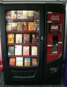 Book vending machine by WordRidden, via Flickr