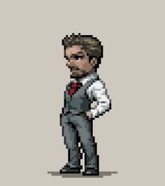 Only for Ironman lovers<<<< not just for iron man lovers my fav is the Hulk but it doesn't mean I don't like the others the same way :) Pixel Art Gif, How To Pixel Art, Marvel Comics, Marvel Heroes, Marvel Gif, Meme Comics, Arte 8 Bits, Avengers Art, 8bit Art