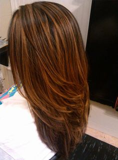 15 New ideas for hair highlights long low lights Hair Lights, Light Brown Hair, Light Hair, Pelo Color Caramelo, Brown Hair With Highlights, Color Highlights, Auburn Highlights, Chunky Highlights, Natural Highlights