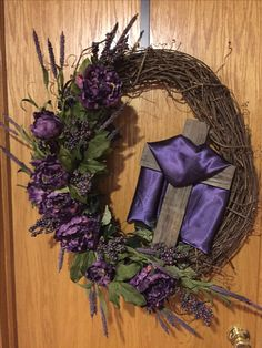 Lent wreath for church