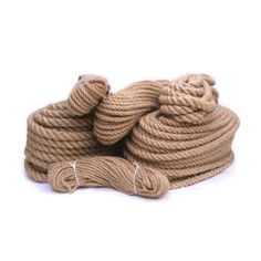 Jute rope can be used around the house or garden as a general purpose rope. Can be used for gardening, decking, climbing, swings, hand rails, decorative rope work, supporting plans, and cat scratching posts  The natural-coloured jute is ideal for DIY rustic-looking craft projects, handmade plant hangers, rugs, and stairs.  Great for different ornament ideas, for rustic style weddings, perfect for decorating candy jars, table napkins, gift-wrapping, toys, etc...  & many many more