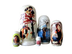 Matryoshka Dirty Dancing. 5 Piece Nesting Doll от bessershop