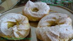 zeppole di San giuseppe senza glutine - gluten free