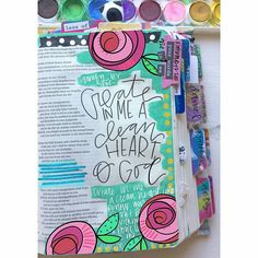 create in me a clean heart of God
