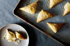 Greek Style Cheese Pies (Tyropita) recipe: Flaky golden triangles. #food52