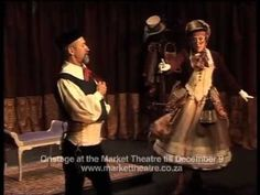 MOLIERE'S THE MISER AT THE MARKET THEATRE JOHANNESBURG. Excerpt 1