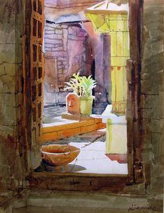 Millind Mulick | Milind Mulick's Watercolours | ART BLOG MarkovArt