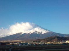Mt. Fuji from Fujiyoshida-city on 21st March