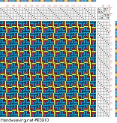 draft image: Figurierte Muster Pl. XXII Nr. 8, Die färbige Gewebemusterung, Franz Donat, 8S, 8T