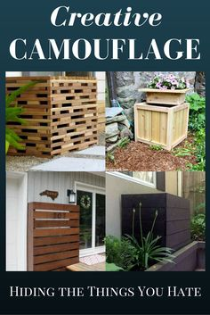 7 ways to hide the ugly things your house cant do without septic systemseptic tankhouse renovationsgarden furniturebackyard ideasgarden