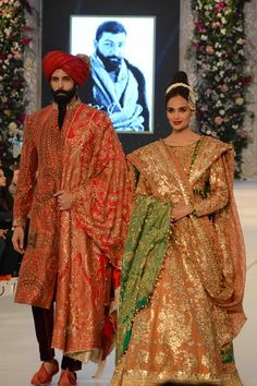 Photo 22: PFDC LOreal Paris Bridal Week 2015 Ali Xeeshan Dresses Gallery,