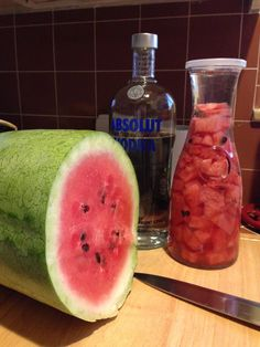 Watermelon Infused Vodka