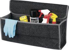 Slim te bevestigen met klittenband. Handig voor in de kofferbak voor o.a. gereedschap, gevarendriehoek, veiligheidsvestje etc. Cleaning, Tips, Home Cleaning, Counseling