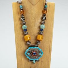 Iris Apfel Exclusive: Tibetan Box Necklace