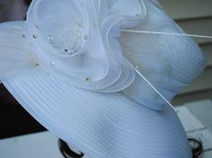 0909220fe62 Items similar to Vintage Ladies Woman s Ladies Whittall   Shon Derby Church  Hat on Etsy