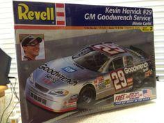 Revell Kevin Harvick Goodwrench #29  NASCAR 1/24th Model Kit 2002 Sealed #RevellMonogram