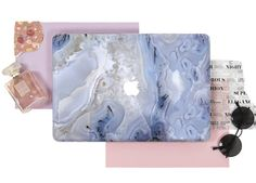 Purple Marble Macbook Case Design MacBook Pro Retina by CaseMagics