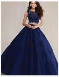 Resultado de imagen para vestido de 15 años azul