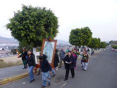 Unidos en la Fe caminamos con la Virgen de Guadalupe al Encuentro con Cristo en la Eucaristía.