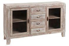 Awesome vintage looking cabinet  onekingslane.com aria cabinet $849