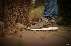 Nike Roshe Run Iguana Green #sneakers