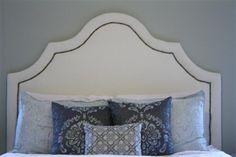 DIY Platform Bed: Upholstering the Headboard