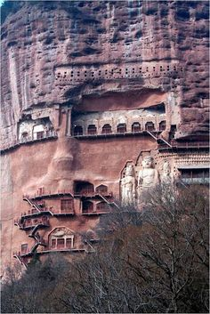 Cuevas de Maytszishan (China).
